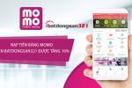 Hướng dẫn nạp tiền qua MoMo - tặng ngay 10% vào tài khoản