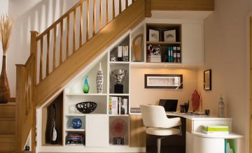 10 ý tưởng tận dụng không gian dưới gầm cầu thang
