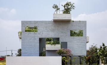 Bình House, ngôi nhà cho cây kết nối thiên nhiên với con người