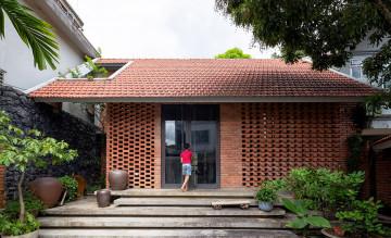 Không gian nhà gạch thoáng đãng tại Sơn La