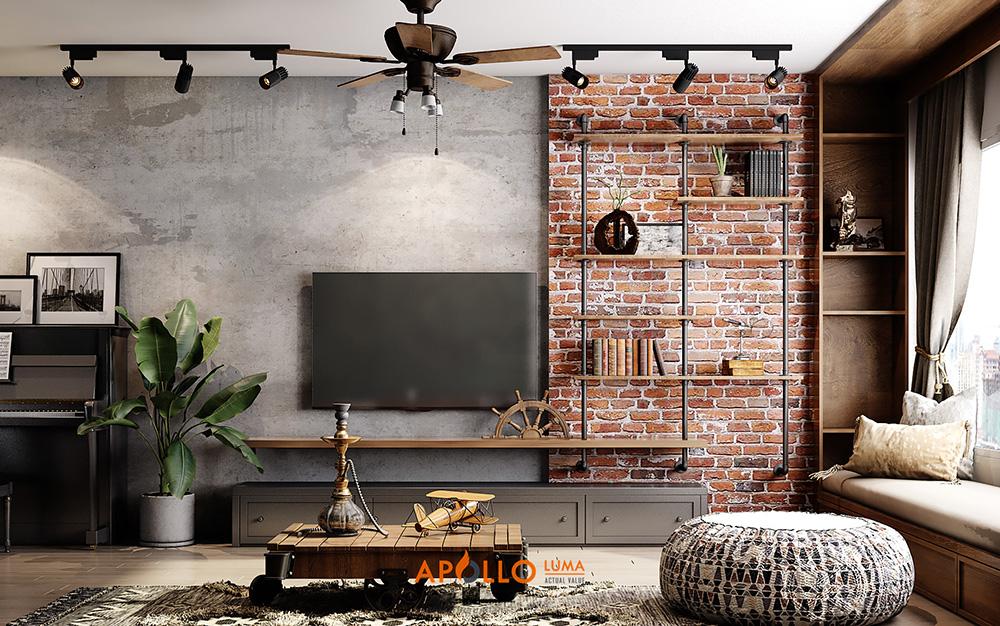Phong cách thiết kế nội thất Industrial là gì?