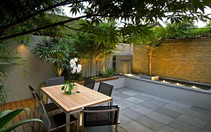 Cách thiết kế sân vườn đẹp mà đơn giản